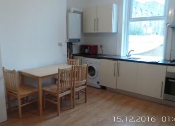 Thumbnail 7 bed end terrace house to rent in Burdett Road, London