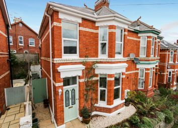 Thumbnail 3 bed semi-detached house for sale in Church Road, Newton Abbot