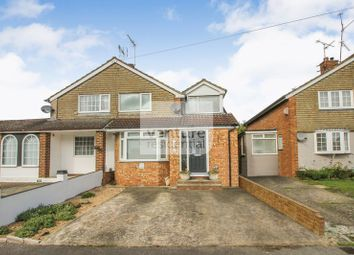 Thumbnail 3 bed semi-detached house for sale in Watermead Road, Luton