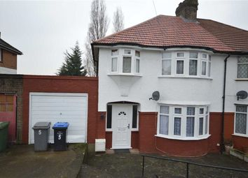 Thumbnail 3 bedroom semi-detached house to rent in Charlton Road, Wembley, Wembley, Middx