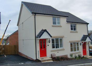 Thumbnail 2 bed semi-detached house to rent in Oak Moor Drive, Launceston