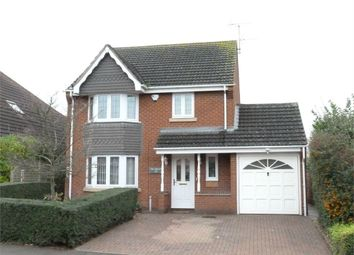 Thumbnail 4 bed detached house for sale in Lilac Drive, Lutterworth
