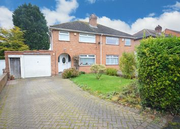 Thumbnail 3 bed semi-detached house for sale in Fords Road, Shirley, Solihull