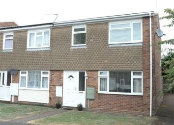 Thumbnail 3 bed end terrace house for sale in Orchard Road, Lutterworth