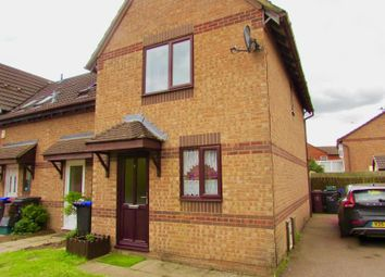 Thumbnail 2 bed end terrace house to rent in Bordeaux Close, Duston, Northampton