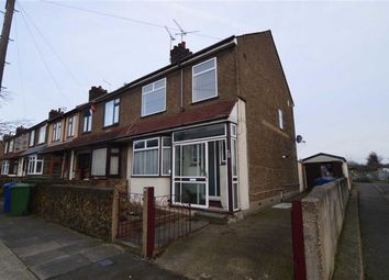 Thumbnail 3 bed end terrace house to rent in Kent Road, Grays, Essex