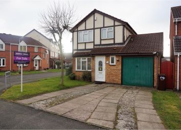 Thumbnail 3 bedroom detached house for sale in Hallam Crescent, Wolverhampton