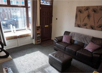 Thumbnail 2 bed terraced house for sale in Buxton Street, Stoke-On-Trent