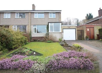 Thumbnail 3 bed semi-detached house for sale in Acaster Drive, Garforth, Leeds