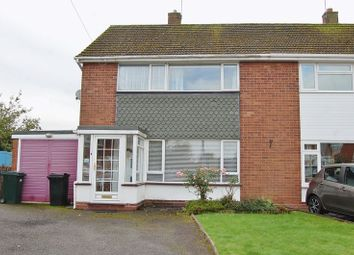 Thumbnail 3 bed semi-detached house for sale in Old Hall Close, Albrighton, Wolverhampton