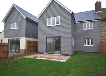 Thumbnail 4 bed semi-detached house for sale in Walnut Tree Cottages, Broads Green, Great Waltham, Chelmsford