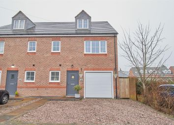 Thumbnail 3 bed semi-detached house for sale in Rossendale Road, Earl Shilton, Leicester