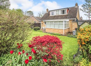 Thumbnail 3 bed bungalow for sale in Lea Gardens, Peterborough