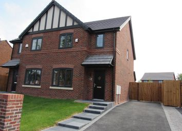 Thumbnail 3 bed semi-detached house for sale in Calve Croft Road, Wythenshawe, Manchester