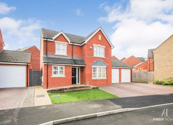 Thumbnail 4 bed detached house for sale in Bingham Close, Alfreton