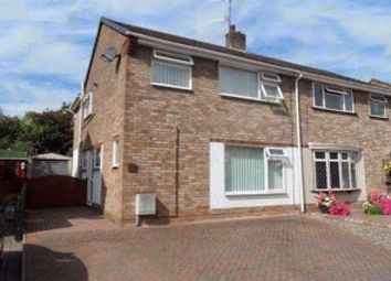 Thumbnail 4 bed semi-detached house to rent in Penhill Crescent, Worcester