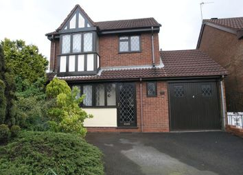 Thumbnail 3 bed detached house for sale in Rough Hill Drive, Rowley Regis