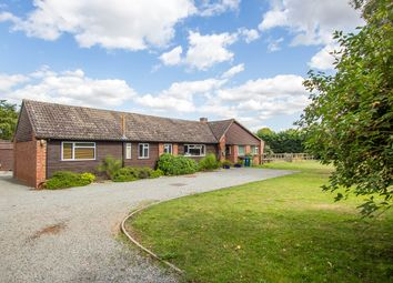 Thumbnail 3 bed detached bungalow for sale in Button End, Harston, Cambridge