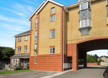 Thumbnail 2 bedroom flat for sale in Gerddi Margaret, Barry