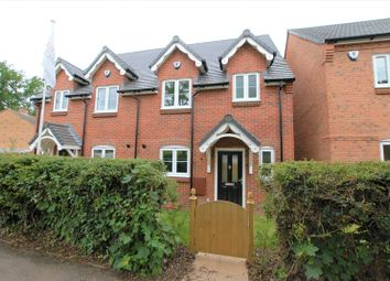 Thumbnail 3 bed semi-detached house for sale in Prince Avenue, Haughton, Stafford