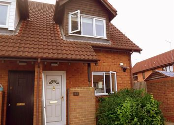 Thumbnail 2 bed end terrace house to rent in Gaddesden Crescent, Wavendon Gate, Milton Keynes