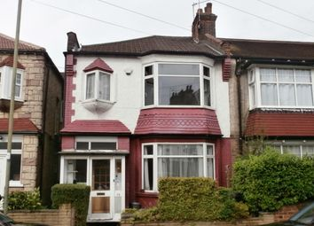 Thumbnail 4 bed end terrace house for sale in Rosemary Avenue, Finchley N3,