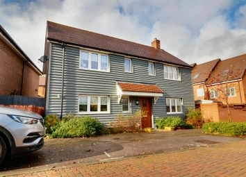 Thumbnail 4 bed detached house for sale in Clements Close, Puckeridge, Ware