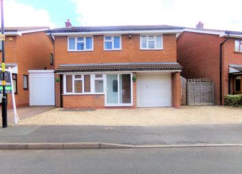 Thumbnail 4 bed detached house for sale in St. Peters Close, Hall Green, Birmingham