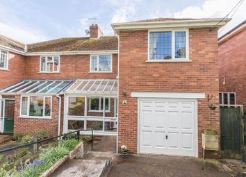 Thumbnail 4 bed semi-detached house for sale in Peoples Park Road, Crediton