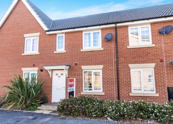 Thumbnail 3 bed end terrace house for sale in Burrows Close, Grantham