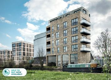 Thumbnail 2 bed flat for sale in Hunts Wharf, Leaside Road, Upper Clapton, London