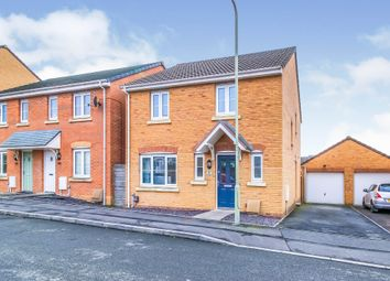 Thumbnail 4 bed detached house for sale in Plorin Road, North Cornelly, Bridgend