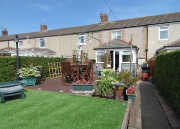 Thumbnail 3 bed terraced house for sale in Station Road, North Broomhill, Morpeth