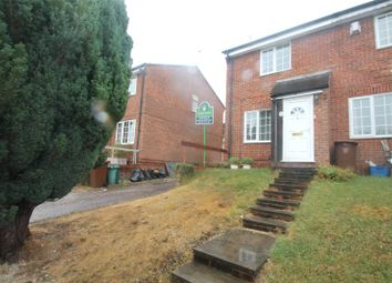 Thumbnail 2 bed end terrace house for sale in Bronington Close, Chatham, Kent