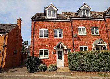 Thumbnail 4 bed town house for sale in Thorneydene Gardens, Grantham