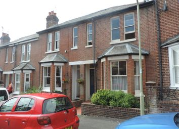 Thumbnail 2 bed terraced house to rent in Brassey Road, Winchester