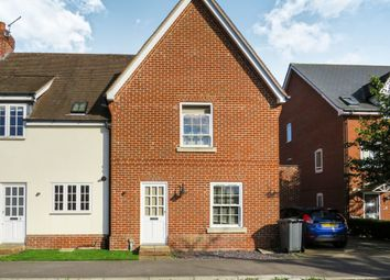 Thumbnail 3 bedroom end terrace house for sale in Library Mews, Rendlesham, Woodbridge
