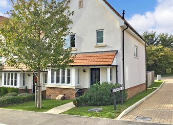 Thumbnail 3 bed end terrace house for sale in Watermeadow Lane, Storrington, West Sussex