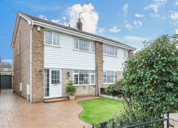 Thumbnail 3 bed semi-detached house for sale in Newby Crescent, Balby, Doncaster