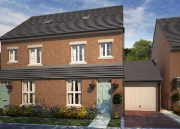 "Thumbnail 3 bedroom semi-detached house for sale in ""Gibson"" at Whitworth Park Drive, Houghton Le Spring"