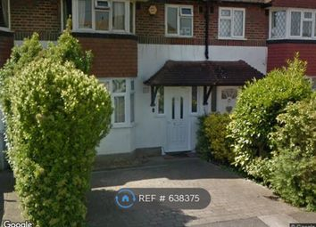 Thumbnail 3 bed terraced house to rent in Heathcroft Avenue, Sunbury-On-Thames