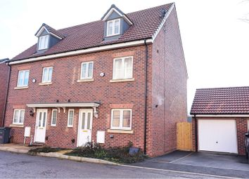 Thumbnail 4 bed semi-detached house for sale in Buxton Way, Royal Wootton Bassett
