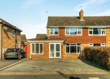 Thumbnail 3 bed semi-detached house for sale in Ashford Gardens, Whitnash, Leamington