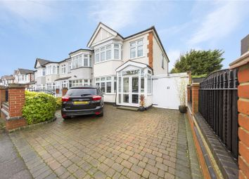 Thumbnail 3 bed end terrace house for sale in Melstock Avenue, Upminster