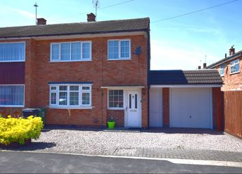 Thumbnail 3 bed semi-detached house for sale in Allington Drive, Birstall, Leicester
