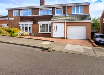 Thumbnail 5 bed semi-detached house for sale in Hillview Grove, Houghton Le Spring