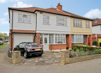 Thumbnail 4 bed semi-detached house for sale in Cannonbury Avenue, Pinner