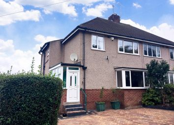 Thumbnail 3 bed semi-detached house to rent in Hady Crescent, Chesterfield