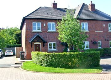 Thumbnail 2 bed semi-detached house to rent in 3 Wayfarers Court, Pickmere, Knutsford, Cheshire