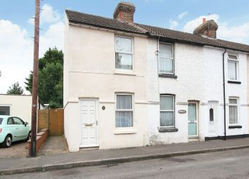 Thumbnail 2 bed end terrace house for sale in East Street, Canterbury